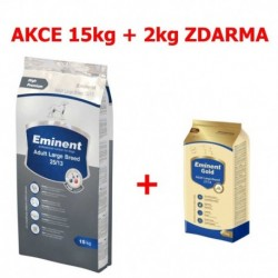 Eminent dog ADULT Large breed 15kg+Gold 2kg ZDARMA-15260