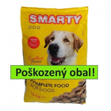 SMARTY DOG 10kg-II.JAKOST-Sleva 30%-TRHLÝ-10516
