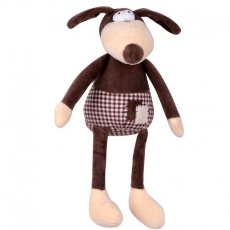 Hračka pro psy - plyš PES pískací 30 cm-140141