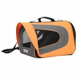 Přepravka látková ROCKET oranžová 46x26x27cm - 8016C