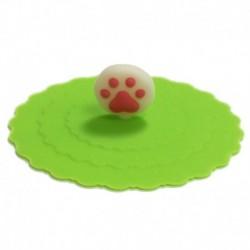 Silikonový kryt s packou 10cm zelený Crcoci - 0436C