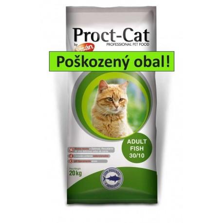 PROCT-CAT Adult FISH 20kg-POŠKOZENÝ OBAL-15488