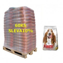 Fincsi Dog Dry food with Beef 10kg-paleta 68ks-SLEVA 10%-15492