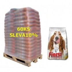 Fincsi Dog Dry food with Chicken 10kg-paleta 68ks-SLEVA 10%-15491