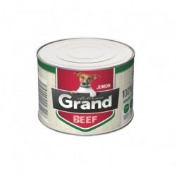 Grand deluxe Dog Junior 100% hovězí 180 g