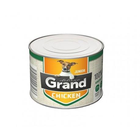 Grand deluxe 100% KUŘECÍ JUNIOR 180g-15472
