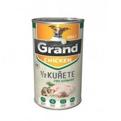 Grand deluxe 100% dog KUŘECÍ s 1/2 kuřete 1300g-15479