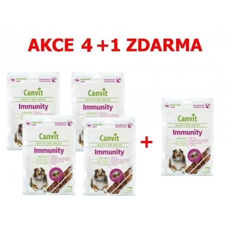 Canvit Snacks Immunity 200g- AKCE 4+1 zdarma-15497