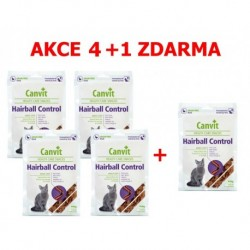 Canvit Snacks CAT Hairball Control 100g-AKCE 4+1 zdarma-15499