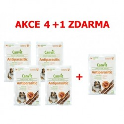 Canvit Snacks Anti-Parasitic 200g-AKCE 4+1 zdarma-15500