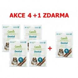 Canvit Snacks Dental 200g-AKCE 4+1 zdarma-15501