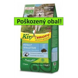 Kiramore Dog medium Adult Sensitive 15kg-POŠKOZENY OBAL-15565