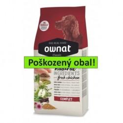 OWNAT Dog Classic Complet 15 kg - SLEVA 20 % (poškozený obal)