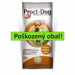 Proct Dog Puppy Chicken 20 kg - SLEVA 20 % (poškozený obal)