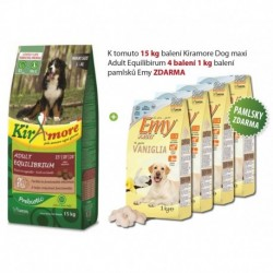 Kiramore Dog maxi Adult Equilibrium 15kg+Pamlsky 4ks ZDARMA