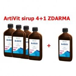 Vitar veterinae Artivit sirup 500 ml AKCE 4+1 ZDARMA