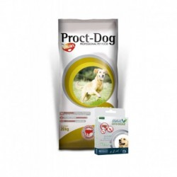 PROCT-DOG Adult ENERGY 20kg+Antiparazitni obojek 75cm ZDARMA