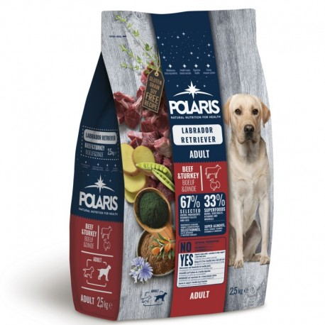 Polaris GF pes Adult Labrador hovězí,krůta 2,5kg -15654-Z