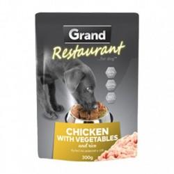 Grand Deluxe Restaurant kuřecí na zelenině, kapsa 300 g