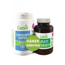 Canvit Chondro Super 230g+Canvit Multi pro psy 100g ZDARMA