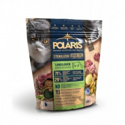 Polaris Cat Sterilized jehně & kachna GF 400 g