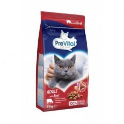 PreVital kočka hovězí, granule 1,4 kg
