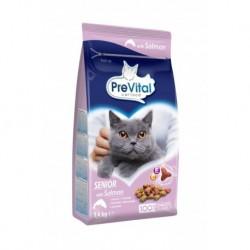 PreVital kočka senior losos, granule 1,4 kg