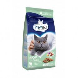 PreVital kočka domácí, kuřecí granule 1,4 kg