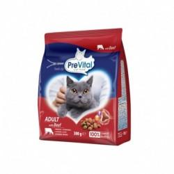 PreVital kočka hovězí, granule 0,3 kg