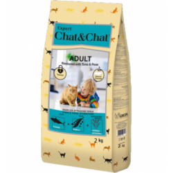 Chat & Chat Expert Adult Tuna & Peas 2 kg