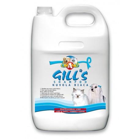 GILLS šampon Bílá srst 5 lt