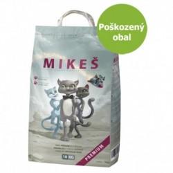 MIKEŠ Premium bílé hrudkující 10 kg-Poškozeny obal - SLEVA 15%