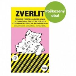 ZVERLIT růžový podestýlka super jemná 6 kg-Poškozeny obal - SLEVA 10%