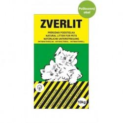 ZVERLIT zelený hrubá podestýlka 10 kg-Poškozeny obal - SLEVA 10%