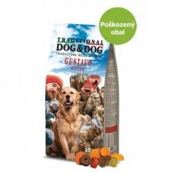Dog & Dog Gustavo Active Beef 20 kg-Poškozeny obal - SLEVA 20%