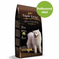 Triple Crown Dog Gourmet Lamb 15 kg - Poškozený obal - SLEVA 20 %
