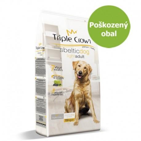 Triple Crown Dog Sbeltic Light 15 kg - Poškozený obal - SLEVA 20 %
