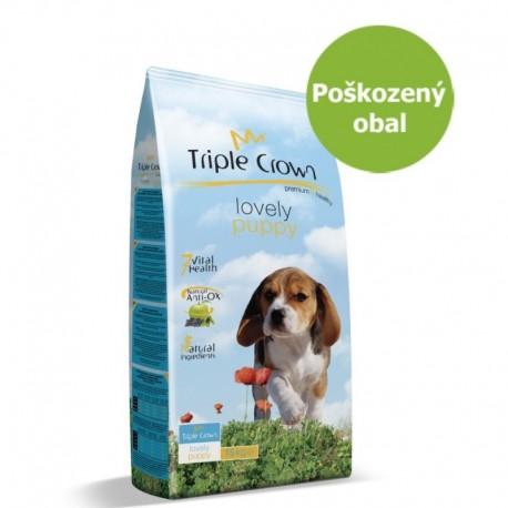 Triple Crown Dog Puppy Lovely 15 kg - Poškozený obal - SLEVA 20 %