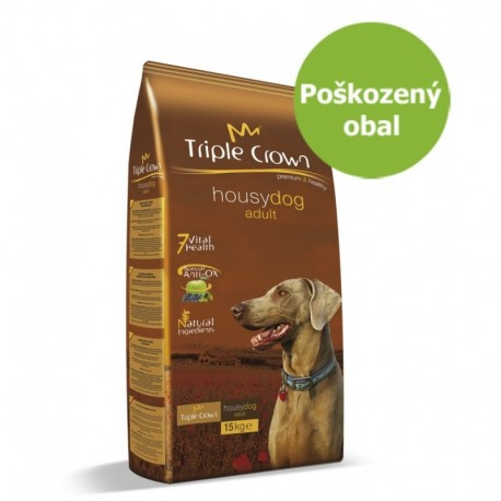 Triple Crown Dog Housy 15 kg - Poškozený obal - SLEVA 20 %
