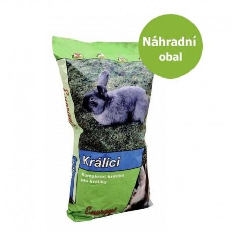 Energys Klasik králík (bez kokc,výkrm) 25 kg - Náhradní obal - SLEVA 10 %