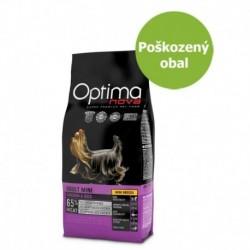 OPTIMAnova Dog Adult Mini Chicken & Rice 12 kg - Poškozený obal - SLEVA 20 %