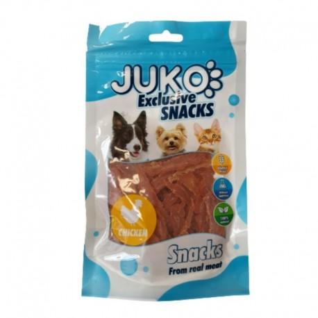 JUKO SNACKS Chicken thin chips 70 g