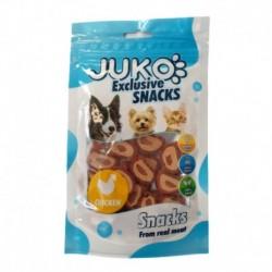 JUKO SNACKS Chicken & Pollock chips 70 g
