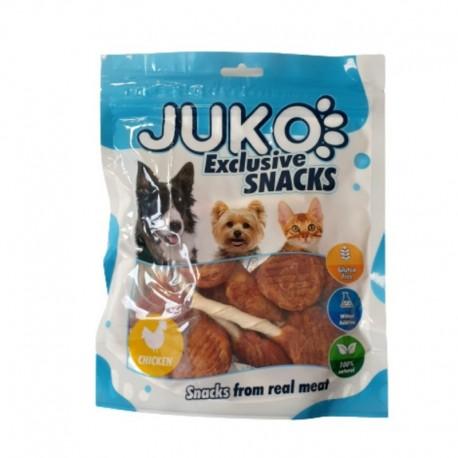 JUKO SNACKS Chicken & Codfish lollipop 250 g