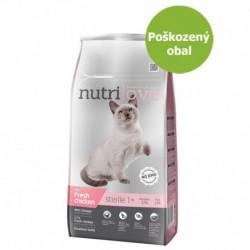 NutriloveCat Sterile fresh kuřecí, granule 7 kg-Poškozeny obal - SLEVA 10%